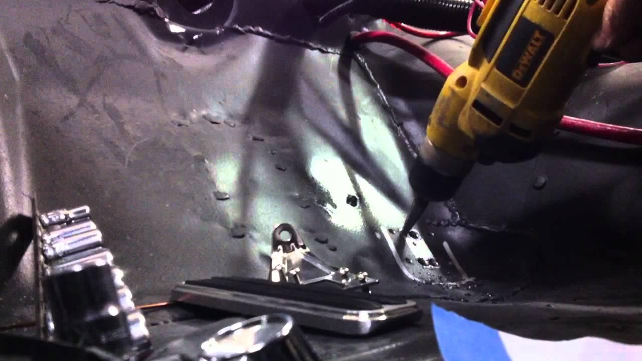 65 Mustang Restoration Lokar Eliminator Gas Pedal