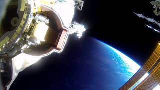 Spacewalk Sights and Sounds Captured By GoPro | Video