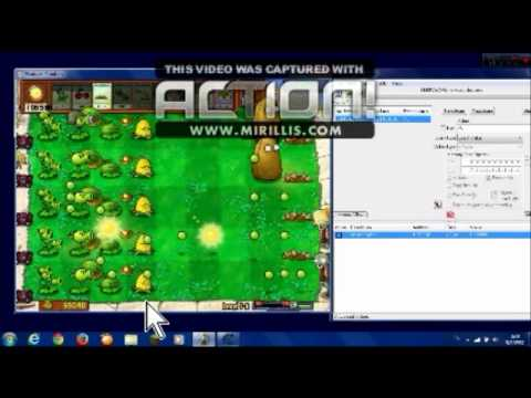 สอนโปร Plants vs Zombies  โดยใช้ Cheat Engine 6.3