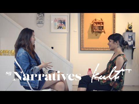 Yang & Tulika   Story of Singapore Artists - I'm just a Hustler (SG Narratives x kult)