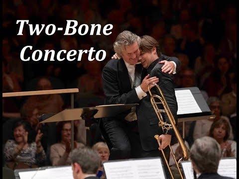 Two-Bone Concerto, Jorgen van Rijen & Alexander Verbeek (Johan de Meij)