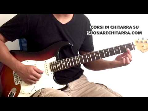 Tutorial Chitarra: Smells Like Teen Spirit, Nirvana (Lezione di Chitarra Elettrica)