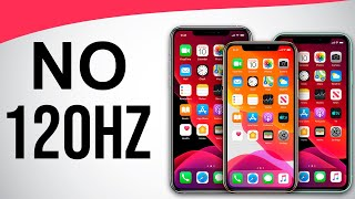 Why No 120Hz in iPhone 12 Pro??