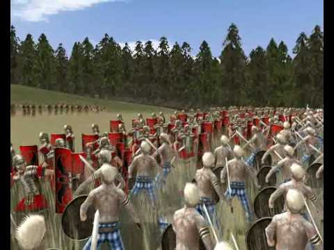 Rome Total War; The Battle of PAULERSPURY (Watling Street) English Version