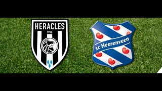 HERACLES ALMELO - SC HEERENVEEN 2 OKTOBER 2015 DE HELE WEDSTRIJD