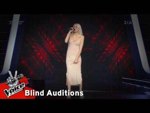 Αλκμήνη Ορφανού – Unfaithful | 17o Blind Audition | The Voice of Greece