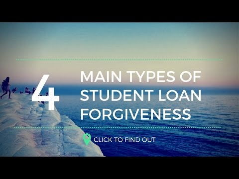 the-four-main-types-of-student-loan-forgiveness-programs