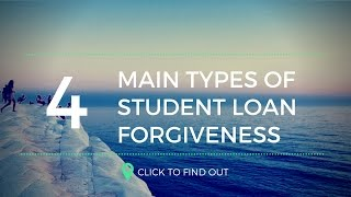 In today's video, i share with you the four main types of student loan forgiveness programs, and how each them can help your debt. r...