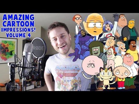 Amazing Cartoon Impressions Volume 4