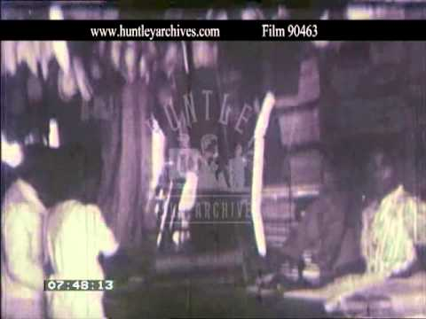Nevis in the West Indies, 1940's -- Film 90463