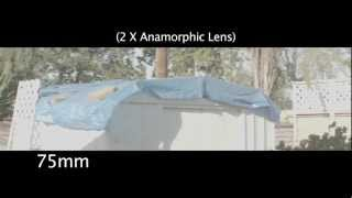Anamorphic Lens  ( I-Vision-Lomo lenses in PL mount. 35, 50, 75, 100mm )
