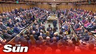MPs vote for Letwin amendment which could lead to a Brexit delay