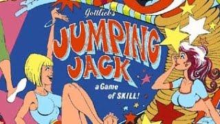 1973 Gottlieb Jumping Jack Pinball with machine gun bumper!