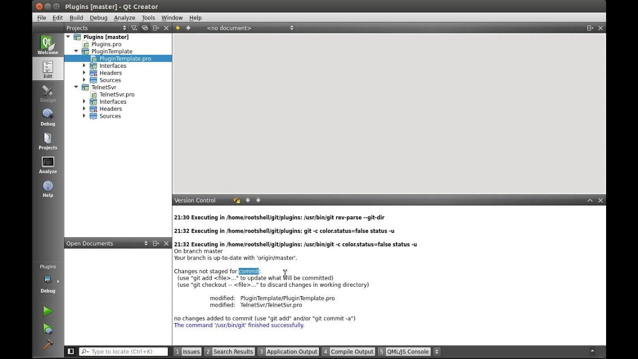 C++ Qt 117 Using Github and Qt Creator