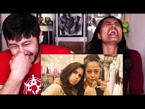 FILTER COPY'S FASHION CONVERSATIONS WITH MOM | Reaction!