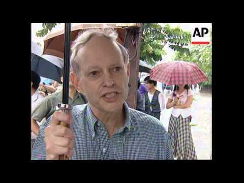 VIETNAM: HANOI: US EMBASSY IS OPENED BY WARREN CHRISTOPHER