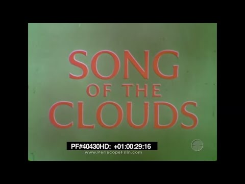 SONG OF THE CLOUDS - 1957 Shell Oil Aviation Film from Propeller Plane Era 40430 HD