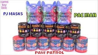 PJ MASKS Pacman Paw Patrol Surprise Toys Unboxing Mashems Toy Review Opening