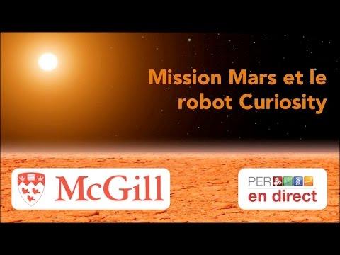 PER en direct - Mission Mars et le robot Curiosity