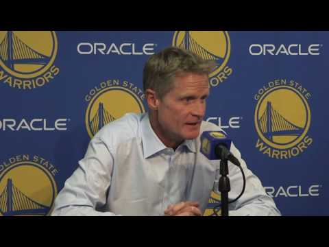Kerr: Green changed first play of Thunder game to give ball to KD