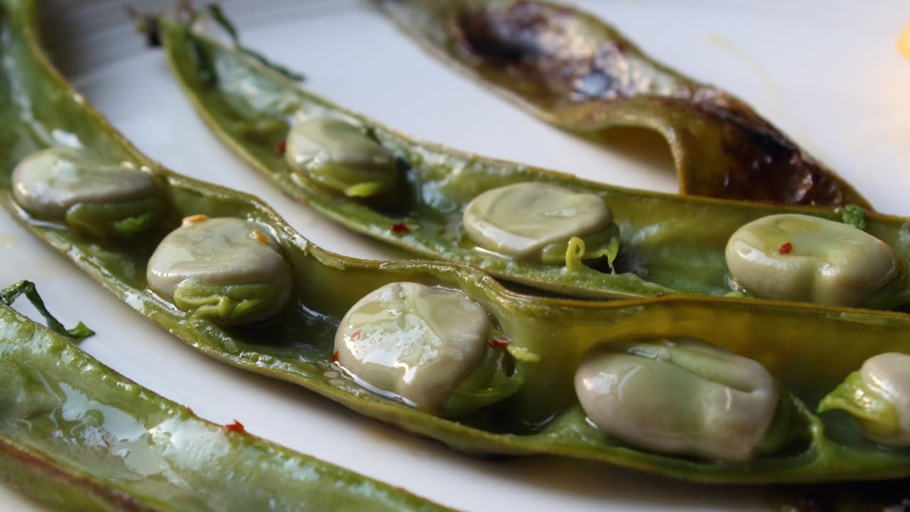 grilled-fava-beans-how-to-grill-fava-beans-fava-beans-on-the-half-shell