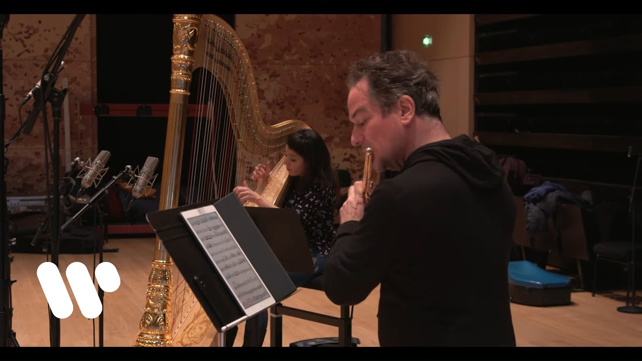 Emmanuel Pahud & Anneleen Lenaerts play Mozart: Concerto for Flute and Harp K.299: III.