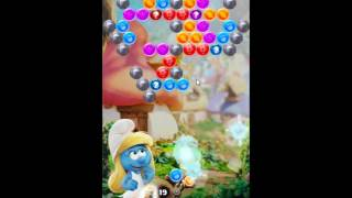 Smurfs Bubble Story Level 93 - NO BOOSTERS