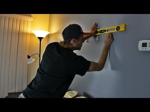 How To Hang Up Skateboards On Your Wall