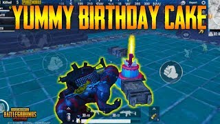 PUBG Mobile BIRTHDAY CAKE !!! | Where To Find Birthday Cake - How To LIGHT Up Birthday CAKE !!!