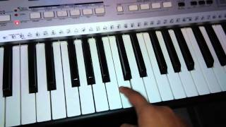GTA San Andreas theme on piano