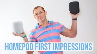 APPLE HOMEPOD - FIRST IMPRESSIONS & REVIEW