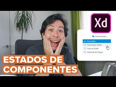 Estados de Componentes - Novedades Adobe XD Noviembre 2019
