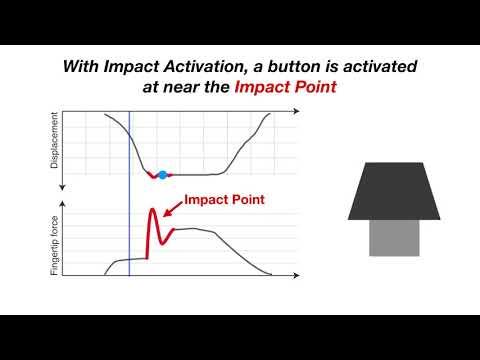 Impact Activation Improves Rapid Button Pressing