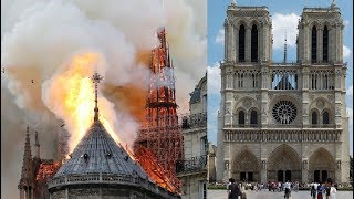 Notre-Dame Cathedral In Paris Fire: Notre Dame History,Architecture & Treasures Saved From The Blaze
