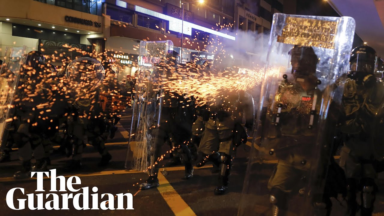 L.A. Times reporter recounts being hit with tear gas and rubber ...