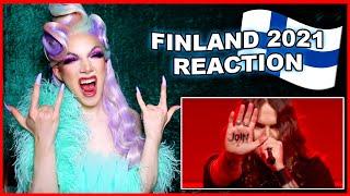 Finland | Eurovision 2021 Reaction | Blind Channel - Dark Side