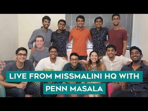 Penn Masala LIVE at MissMalini HQ