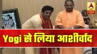 Ravi Kishan Meets Yogi Adityanath, Seeks Blessings For Electio…