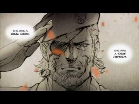 Metal Gear Solid: Peace Walker-Heavens Divide Instrumental