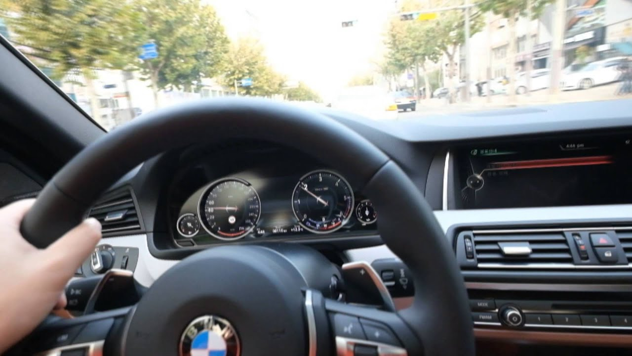 2015 Bmw 530d Xdrive M Driving Experience Youtube