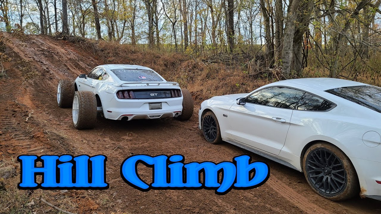 MUDstang vs Mustang  Hill Climb Battle