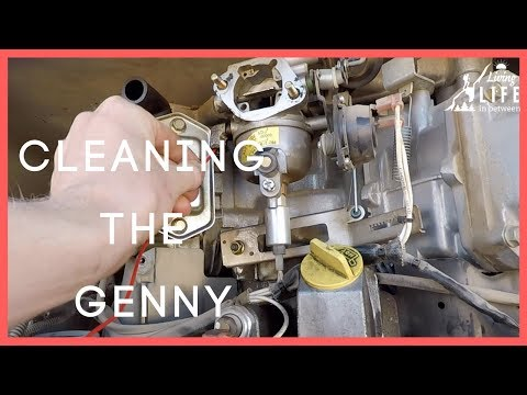 Cleaning a Carburetor on an Onan 5500 Generator| Motorhome