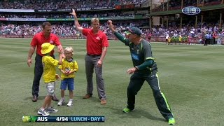 Cricket Fielding-Throwing  Masterclass:  Mike Young Australian Cricket Coach