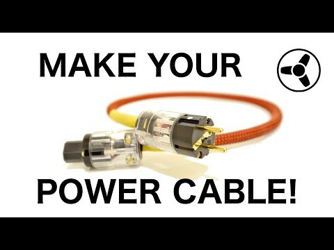 HOW TO MAKE YOUR OWN HI-END POWER CABLE: The fundamental role of power cables in amplification