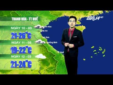 Dự báo thời tiết ngày 10-3-2016: Không khí lạnh tăng cường tại miền Bắc