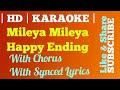 Mileya Mileya   Karaoke   With Chorus   Clean HD   Happy Ending   Saif Ali Khan   Ileana D'Cruz