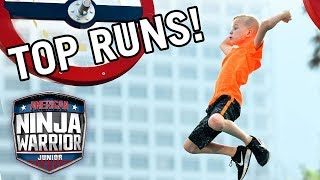American Ninja Warrior Junior: 10 More Amazing Runs from Season 1! | Universal Kids