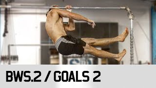 One Arm Pull Up / STRONGER! BWS.2 / Goal 2 of 4