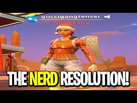 I tried Stretched Resolution again but made it worse (pro fortnite resolution)