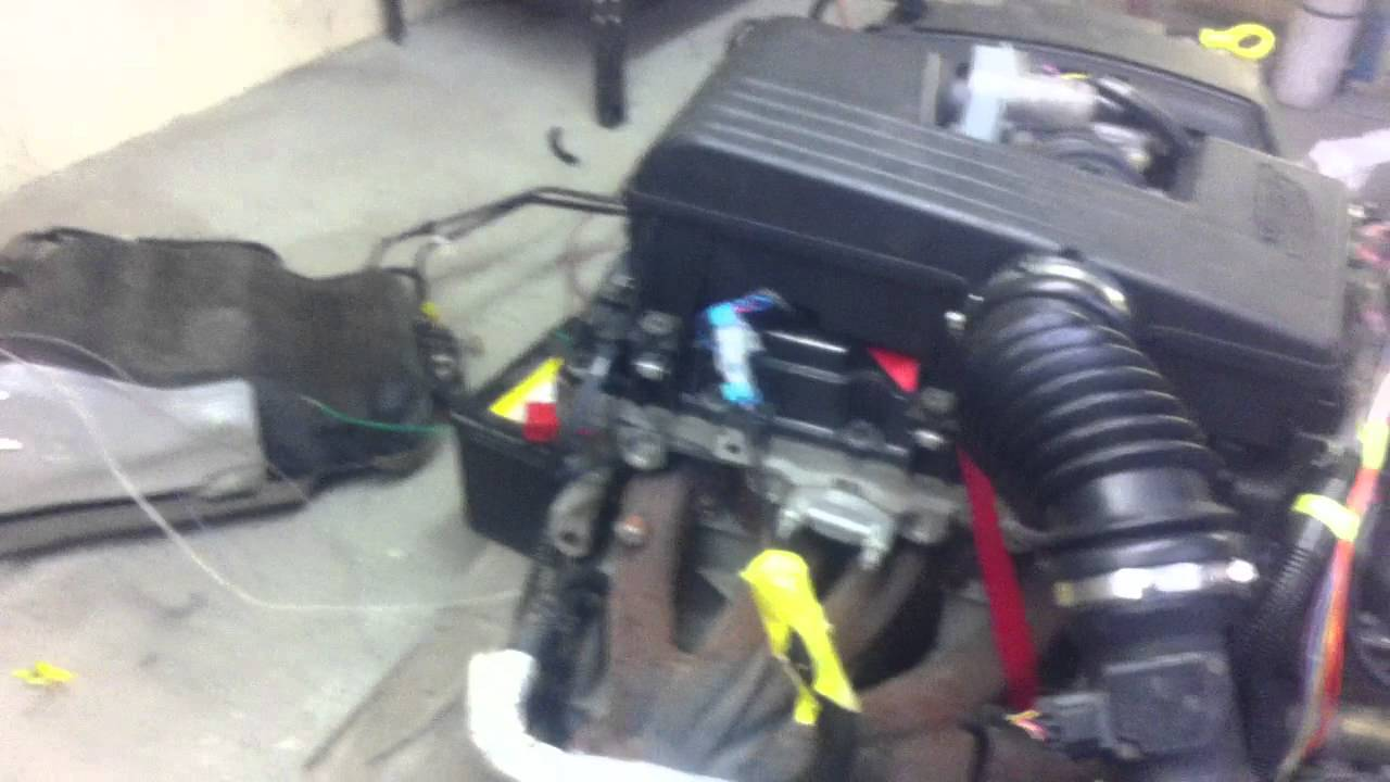 maxresdefault 2004 i5 colorado 3 5l engine standalone running on pallet youtube  at mifinder.co